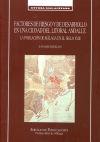 Factores de riesgo y de desarrollo en: Sanz Sampelayo, Juan.