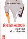TECNICAS DE NEGOCIACION: Ovejero Bernal,Anastasio
