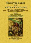 Secretos raros de artes y oficios (Tomo: Editorial Maxtor Librería