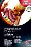 Cuerpo de maestros, especialidad Música. Programación didáctica: Casanova Vega, Pablo;