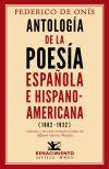 Antología de la poesía española e Hispanoamericana (1882-1932): Onís, Federico...