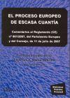 PROCESO EUROPEO DE ESCASA CUANTIA: FRANCISCO LOPEZ SIMO