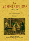 La imprenta en Lima (4 Tomos): Medina, Jose Toribio