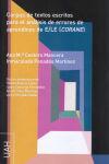 Corpus de textos escritos para el análisis: Cestero Mancera, Ana