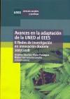 Avances en la adaptación de la UNED: SÁNCHEZ-ELVIRA PANIAGUA, Ángeles;