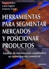 Herramientas para segmentar mercados y posicionar productos: Ramón Pedret ,