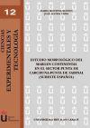 Estudio morfológico del margen continental en el: Montoya Montes, Isabel