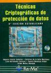 TÉCNICAS CRIPTOGRÁFICAS DE PROTECCIÓN DE DATOS. 3ª: Amparo Fuster Sabater