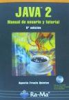 JAVA 2: MANUAL DE USUARIO Y TUTORIAL.: FROUFE QUINTAS, AGUSTIN