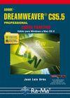 Adobe Dreamweaver CS5.5 Professional. Curso práctico: Oros Cabello ,