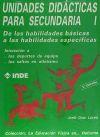 Unidades Didácticas para Secundaria I. De las: Jordi Díaz Lucea