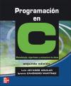 Programación en C: Zahonero Ignacio; Joyanes