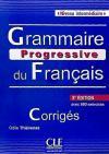 Grammaire progressive du français, niveau intermédiaire: livret: Maïa Gregoire