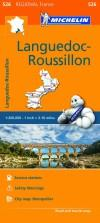 Michelin Regional Maps: France: Languedoc-Roussillon Map 526
