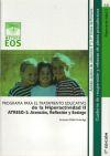 ATRESO-II: Atención, reflexión y sosiego. Programa para: Vallés Arándiga, Antonio