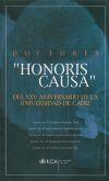 """Doctores """"Honoris Causa"""" del XXV Aniversario de: Fernández Díaz, Andrés;Caballero"""