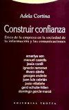 Construir confianza: Adela Cortina (ed.)