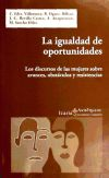 Igualdad de oportunidades, La: Sancho Hernandez, Miriam;