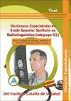 Técnicos/as Especialistas de grado superior sanitario en: VV.AA.