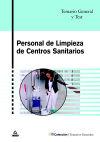 PERSONAL DE LIMPIEZA DE CENTROS SANITARIOS. TEMARIO: DE PABLO RODRIGUEZ,