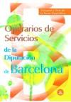 Operarios de Servicios de la Diputación Provincial: Maite de Pablo