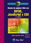 DISEÑO DE PAGINAS WEB CON XHTML, JAVASCRIPT: OROS CABELLO, JUAN