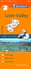 Michelin Regional Maps: France: Loire Valley Map 517