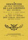 Descripción del Real Monasterio de San Lorenzo: FR. ANDRES XIMENEZ
