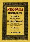 Segovia : recuerdos y bellezas de España: Quadrado, José María