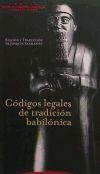 Códigos legales de tradición babilónica: Joaquin Sanmartín (traducción y ...