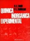 Química inorgánica experimental: Dodd, R. E.;Robinson, P. L.