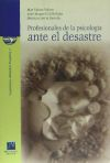 Profesionales de la psicología ante el desastre: Valero Valero, María