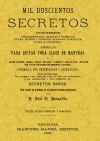 MIL DOSCIENTOS SECRETOS: JOSE ORIOL RONQUILLO