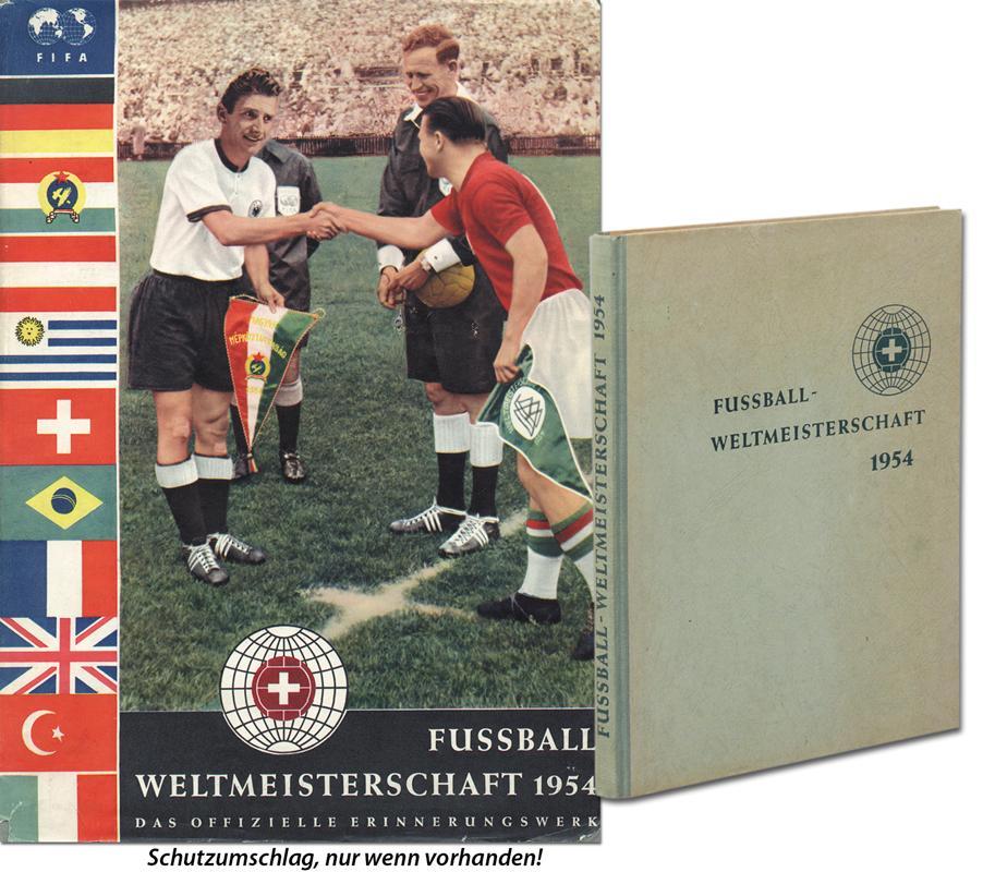 Fussball Weltmeisterschaft 1954 Offizielles