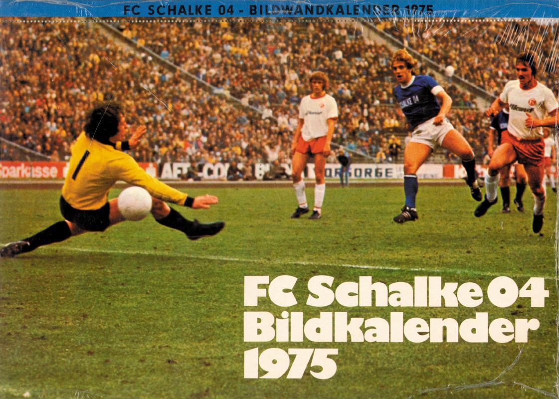 Sport Original Foto Schalke 04 Mannschaft 1970er Jahre . Autogramme & Autographen