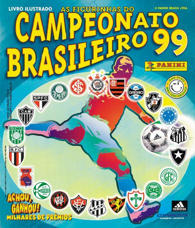Panini Campeonato Brasileiro: Campeonato Brasileiro 99. By Sammelbilder-Panini BR99