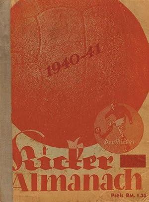 Kicker Fußball Almanach 1940/41: Kicker-Almanach 1940/41