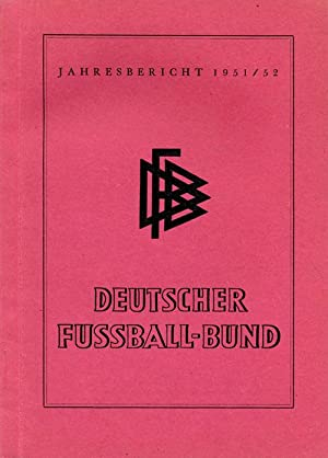 Jahresbericht 1951-52: DFB