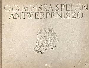De Olympiska Spelen i Antwerpen 1920.: Bergvall 20, Erik