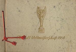 Fußball - Weltmeisterschaft 1954 in der Schweiz.: Sammelbilder-B�ninger, B�ninger,A.(H)