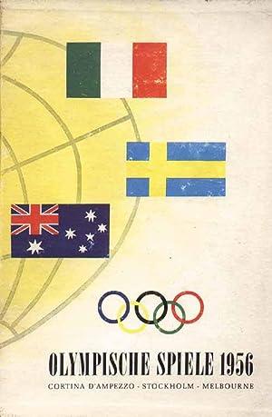 Die Olympischen Spiele 1956. Cortina. Stockholm. Melbourne.: Lechenperg 56, Harald (Hrsg.)