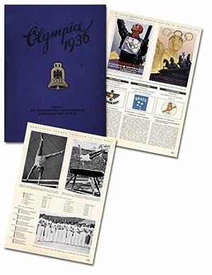 Olympische Spiele 1936 in Berlin und Garmisch Partenkirchen. 2 Sammelbilderalben mit 375 ...