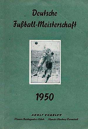 Deutsche Fußball-Meisterschaft 1950. Sammelbilderalbum.: Sammelbilder-Vogeley, Sticht,Georg