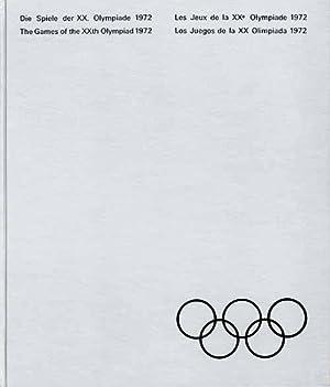 Die Spiele der XX.Olympiade München Kiel Augsburg Sapporo 1972. The games of the XXth Olympiad...