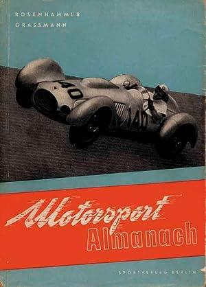 Motorsport-Almanach 1953.: Rosenhammer/Grassmann 53