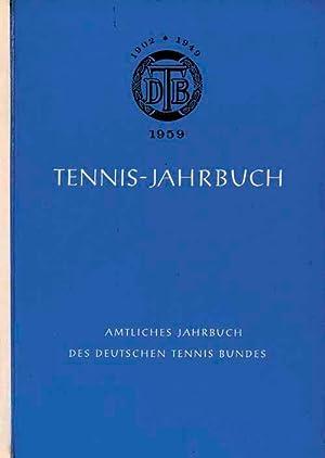 Tennis-Jahrbuch 1959: DTB 1959