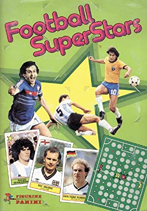 Football Superstars. Meine Wunschelf.: Sammelbilder-Panini