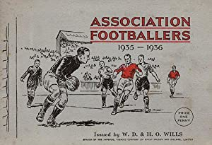 Association Footballers 1935/36.: Sammelbilder-Wills