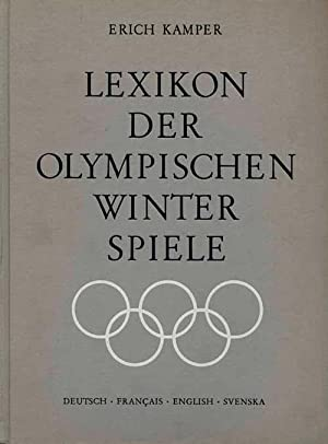 Lexikon der Olympischen Winterspiele.: Kamper, Erich