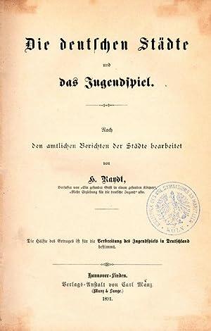 Das Jugendspiel. Vortrag gehalten in der Gemeinnützigen Gesellschaft zu Leipzig am 17. ...